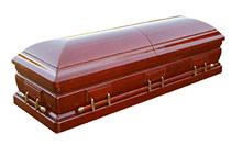 Dark Stained Coffins